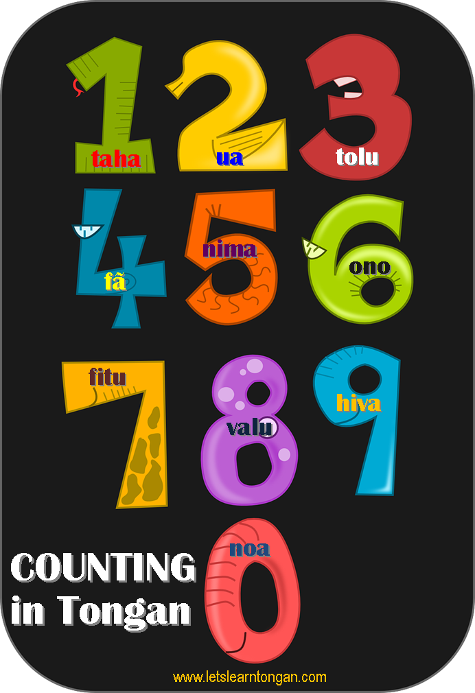 Counting to 100 in Tongan – Let's learn Tongan