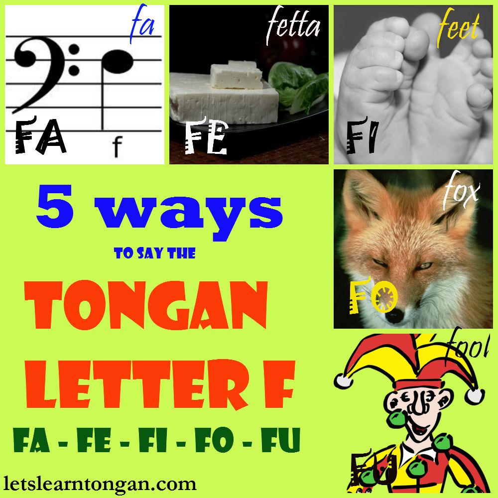 how to say no in tongan