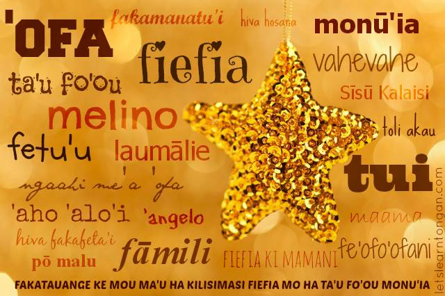 Talamonū: Christmas Greetings