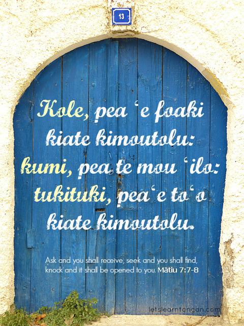S Alphabet In Heart Tongan bible verse: M�...
