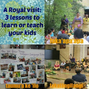 Royal visit to Tongan Language School