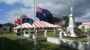 Anzac Day memorial at Nuku'alofa