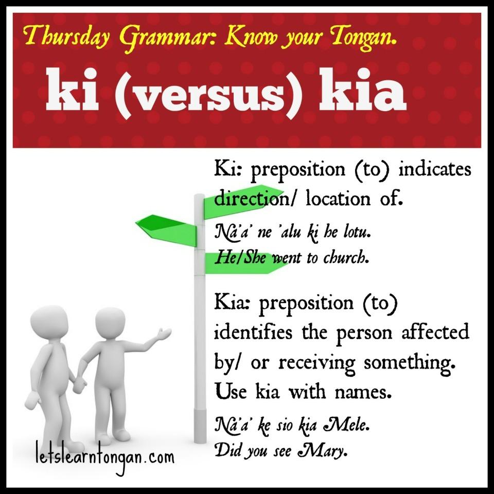 Thurs grammar